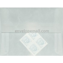 Translucent Marbled White A2  4-3/8 x 5-3/4 Envelope