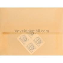 """Translucent Spring Ochre - 4Bar  (3-5/8 x 5-1/8"""") Envelope"""