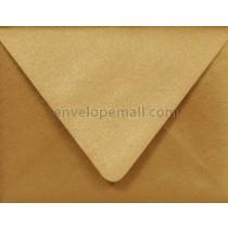 "Stardream Metallic Antique Gold Euro Flap - 4Bar (3-5/8 x 5-1/8"") Envelope"