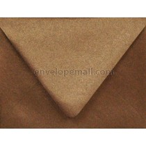 "Stardream Metallic Bronze Euro Flap - A7 (5-1/4 x 7-1/4"") Envelope"