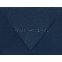"Carnival Navy Blue ""Euro Flap"" 4-3/8 x 5-3/4"" (A2) Envelope"