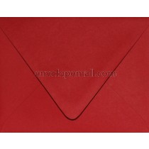 """Carnival Red """"Euro Flap"""" 3-5/8 x 5-1/8"""" (4Bar) Envelope"""