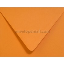 "Poptone Orange Fizz Euro Flap - 4Bar (3-5/8 x 5-1/8"") Envelope"
