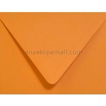 "Poptone Orange Fizz Euro Flap - A7 (5-1/4 x 7-1/4"") Envelope"