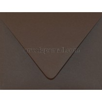 "Poptone Hot Fudge Euro Flap - 4Bar (3-5/8 x 5-1/8"") Envelope"