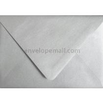 "Stardream Metallic Silver Euro Flap - A9 (5-3/4 x 8-3/4"") Envelope"