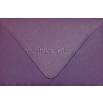 "Curious Metallic Violet Euro Flap - A9 (5-3/4 x 8-3/4"") Envelope"
