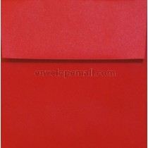 "Stardream Metallic Jupiter Red - Square (6-1/2 x 6-1/2"") Envelope"