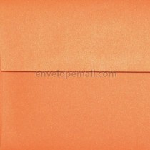 Curious Metallic Mandarin 6-1/2 x 6-1/2 Square Envelope
