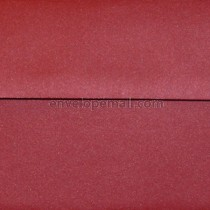 Curious Metallic Red Lacquer 6-1/2 x 6-1/2 Square Envelope