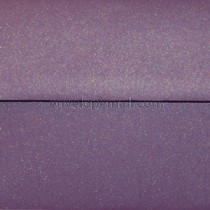 Curious Metallic Violet 5-1/2 x 5-1/2 Square Envelope