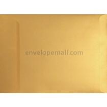 Stardream Metallic Gold 9 x 12 Open End Catalog Envelope