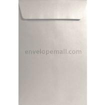 Stardream Metallic Silver  9 x 12 Open End Catalog Envelope