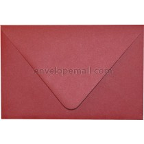 """Curious Metallic Red Lacquer Euro Flap - A2 (4-3/8 x 5-3/4"""") Envelope"""
