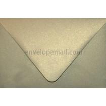 "Curious Metallic Gold Leaf Euro Flap - A9 (5-3/4 x 8-3/4"") Envelope"