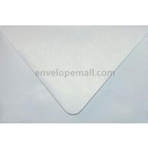 "Curious Metallic Ice Silver Euro Flap - A9 (5-3/4 x 8-3/4"") Envelope"
