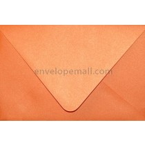 "Curious Metallic Mandarin Euro Flap - 4Bar (3-5/8 x 5-1/8"")  Envelope"
