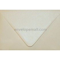 "Curious Metallic Poison Ivory Euro Flap - 4Bar (3-5/8 x 5-1/8"")  Envelope"