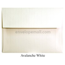 "Classic Columns Avalanche White - 4Bar (3-5/8 x 5-1/8"") Envelope 100 Pack"