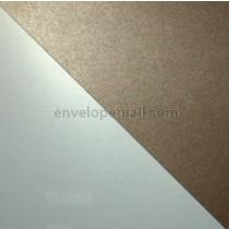 "Stardream Metallic Dual Bronze/Citrine 105 lb Cover - Sheets 8-1/2 x 11"" 100 Pack"