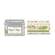 Flora & Fauna Decorative Paper Tape, 5 Assorted Rolls