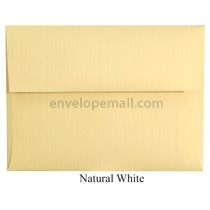 "Classic Columns Natural White - A6 (4-3/4 x 6-1/2"") Envelope 100 Pack"