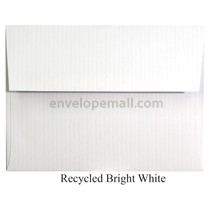 "Classic Columns Recycled Bright White - A6 (4-3/4 x 6-1/2"") Envelope 100 Pack"