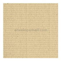 Classic Laid Camel Hair A7 Envelope