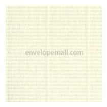 Classic Laid Natural White 6-1/2 x 6-1/2 Sq.  Envelope