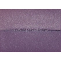 "Curious Metallic Violet 4Bar  3-5/8 x 5-1/8"" Envelope"