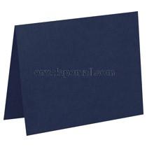 Carnival Navy Blue 80 lb Cover -  4 Bar Folded Card