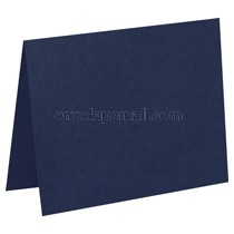 Carnival Navy Blue 80 lb Cover - A2 Folded Card