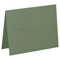 "Carnival Pine 80 lb Cover - A6 Folded Card 4-5/8 x 6-1/4"" 100 Pack"