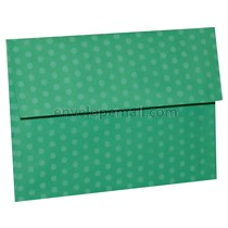 "Dotted Washi Green 4Bar  (3-5/8 x 5-1/8"") Envelope 100 Pack"