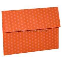 "Dotted Washi Orange - 4Bar  (3-5/8 x 5-1/8"") Envelope 100 Pack"