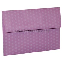 "Dotted Washi Purple - A6 (4-3/4 x 6-1/2"") Envelope 100 Pack"