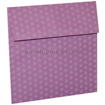"""Dotted Washi Purple - Square (5-1/2 x 5-1/2"""") Envelope 100 Pack"""