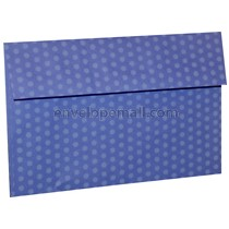 "Dotted Washi Violet - Booklet (6 x 9"") Envelope"