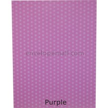 Dotted Washi Purple 65 lb Cover - Sheets 8-1/2 x 11