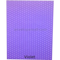 Dotted Washi Violet 65 lb Cover - Sheets 8-1/2 x 11