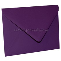 "Eames Furniture Kaleidoscope Purple Euro Flap - 4Bar (3-5/8 x 5-1/8"") Envelope"