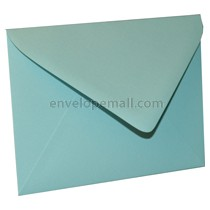 "Eames Furniture Pacific Blue Euro Flap - A2 (4-3/8 x 5-3/4"") Envelope 100 Pack"