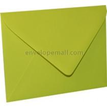 "Eames Furniture Tivoli Green Euro Flap - 4Bar (3-5/8 x 5-1/8"") Envelope"