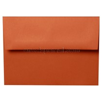 "Construction Brick Red - A7 (5-1/4 x 7-1/4"") Envelope"