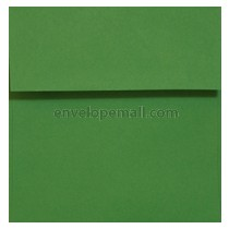 "Astrobright Gamma Green 6-1/2 x 6-1/2"" (Square) Envelope 100 Pack"
