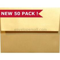 "Stardream Metallic Gold - A7 (5-1/4 x 7-1/4"") Envelope"