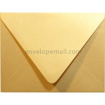 "Stardream Metallic Gold Euro Flap - A2 (4-3/8 x 5-3/4"") Envelope"