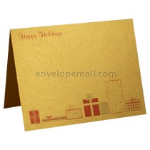 Happy Holidays Stardream Gold Card A2