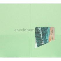 Hotel Key/Gift Card Holder Spearmint (3-3/8 x 6) , 25 Pack