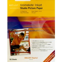 Kromekote Injet Studio Picture Paper 8-1/2 x 11